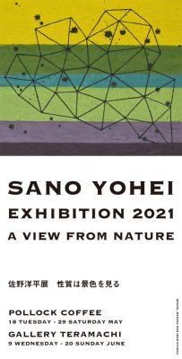 佐野洋平 展「性質は景色を見る」 2021年6月9日(水)~6月20日(日)